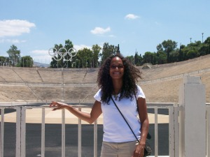 Olympic Stadium in Athens, Greece