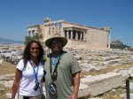 Dad & Me in Athens, Greece